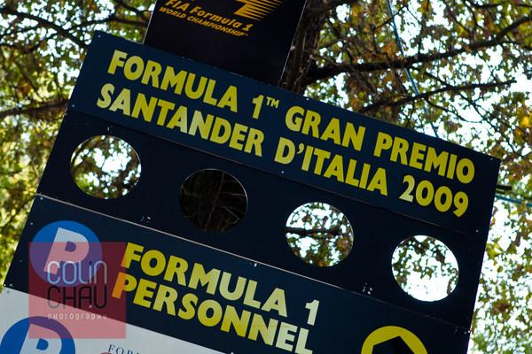 Formula 1 Gran Premio Santander D'Italia 2009