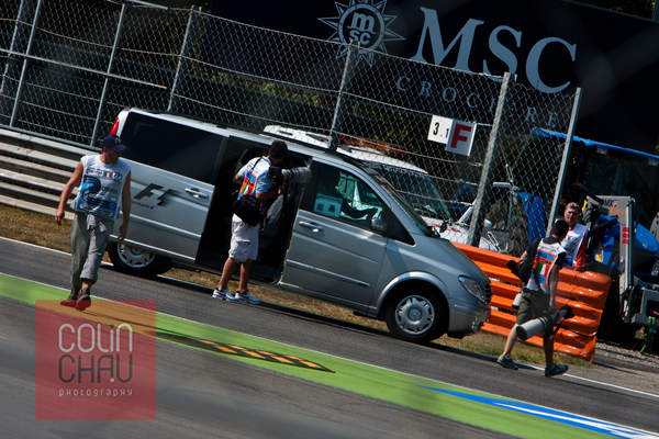 FIA-accredited photographers travel in luxury to the vantage points around the track