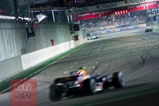 F1 Singapore Grand Prix 2008